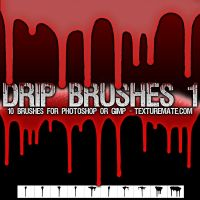 Drip Brushes 1 by AscendedArts