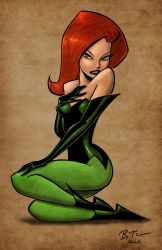 Poison Ivy by Bruce Timm by richmbailey