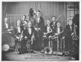 Elmer Grosso and His Versatile Orchestra by PRR8157