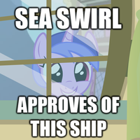 [MACRO] Sea Swirl approves of this ship by TriteBristle