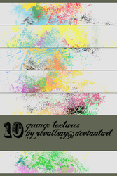 10  grunge  textures by revallsay