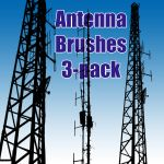 Antenna Brushes 3-Pack by sara1elo
