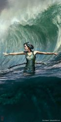 She rules the sea by the0phrastus