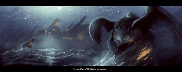 Unholy Offspring by Xylius