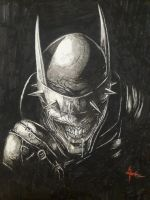 The Batman Who Laughs by skirniskolops