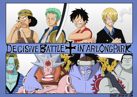 One Piece - Decisive Battle in Arlong Park by SergiART