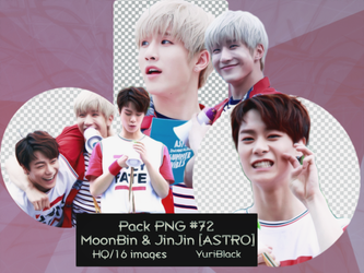 Pack PNG #72 - MoonBin and JinJin [from ASTRO] |01 by YuriBlack