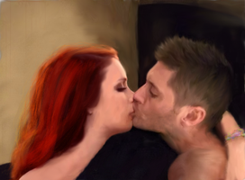 Dean/Charlie Morning at the bunker With You by DeanWinchesterwho