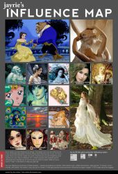Influence Map by Jayrie by Jayrie