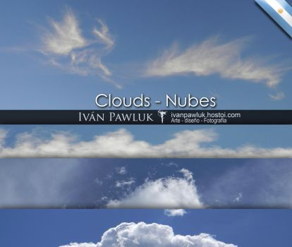 Clouds - Nubes  TEXTURES by ipawluk