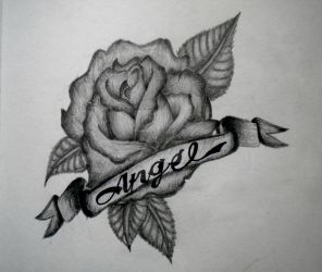 Rose (tattoo design) by xOceanlights