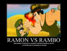 Ramon vs Rambo by Freakster00f