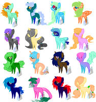 Pone adopts (5 -10 points) by MysticShinyUmbreon