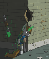 Littlepip by QuadRog