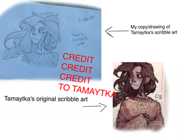 Scribble (CREDIT TO TAMAYTKA) by YoruArtist