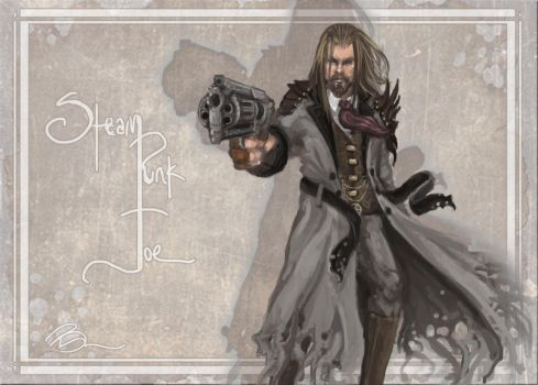 Steampunk Joe by Why-Not-Chaos