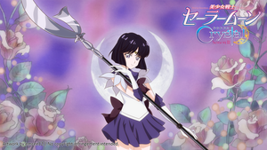 Sailor Saturn Wallpaper by eMCee82