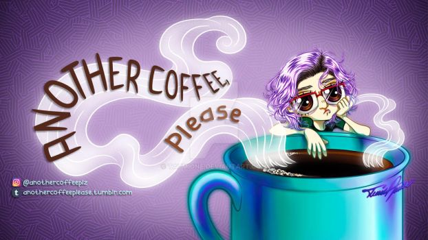 ANOTHER COFFEE, PLEASE - Facebook Page Cover by Tatmione