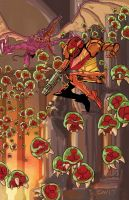 Metroid 2017 by GlenMiles