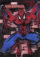 MM3 artist proof SPIDER-MAN by jasinmartin