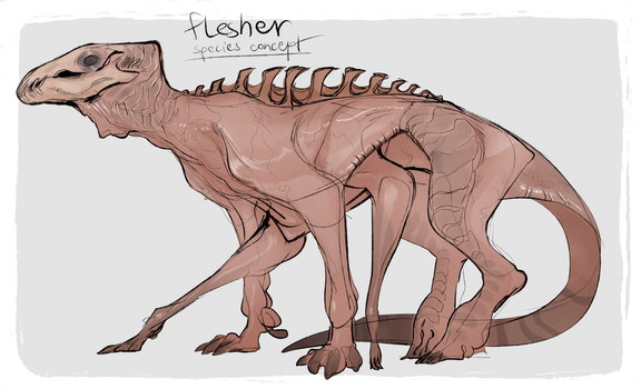 Flesher Species by LiLaiRa