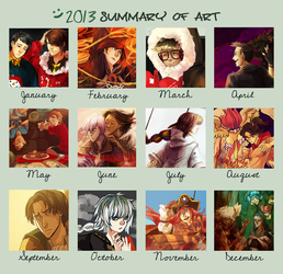 2013 Art Summary by Katarya