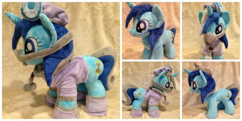 Minuette/Colgate Talking Pony by The-Plushatiers
