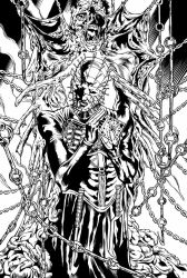 Hellraiser Pin Up Inker Mrcio Loerzer by marcioloerzer
