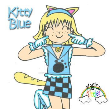 Kitty Blue by Magical-Kitties