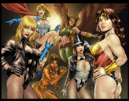 HOT DC CHICKS by alt01414sak