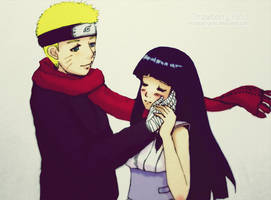 Your warmth - NaruHina - The last by StrawberryHini