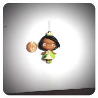 FIMO : the princess and the frog by MilkyWayHandmade