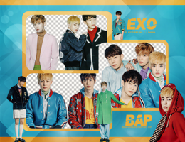 Pack Png #648 // EXO by BEAPANDA