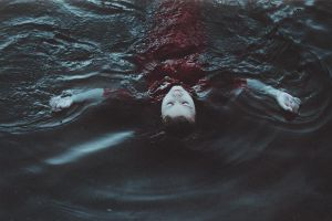 She lulled by silent waves. by NataliaDrepina
