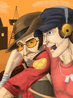 TF2 - Scout and Sniper by analoren