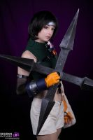 Yuffie Kisaragi by Ally-bee
