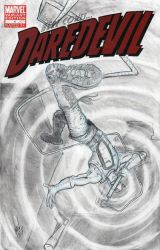 DAREDEVIL sketch cover pencils 2 by FWACATA