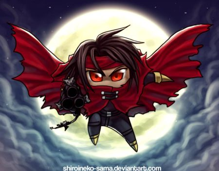 FF7DoC:Chibi Vincent by ShiroiNeko-sama