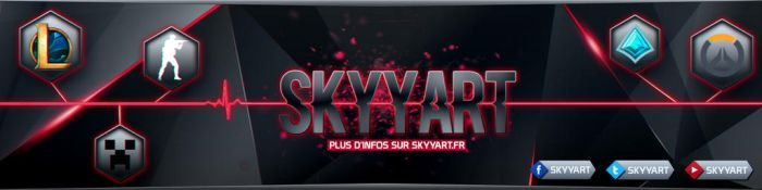 Banner Twitch Page {SKYYART CONTEST} by xStree
