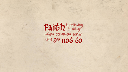 Faith Wallpaper by VampireLouislove