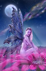 Moon Beam Butterfly by futureclassx
