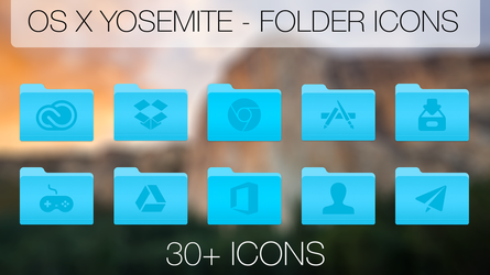 Folder Icons by deezel26