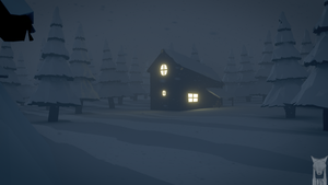low poly - snow storm by xxxscope001xxx