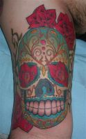 Sugar Skull by jqdesigner