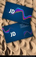 Wavy Business Cards by Freshbusinesscards