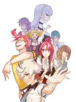 Kiznaivers by 4rca