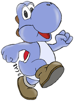 Yoshi Blue by Dungonmast3r