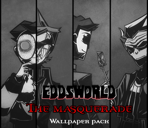 [Eddsworld VtMB AU] Wallpaper Pack + SPEEDPAINT by pirran-p