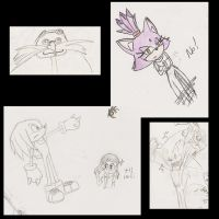 Random Sonic sketches 3 by ine-rocks
