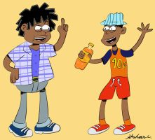 Kenan and Kel: Loud House style! by Zaidan